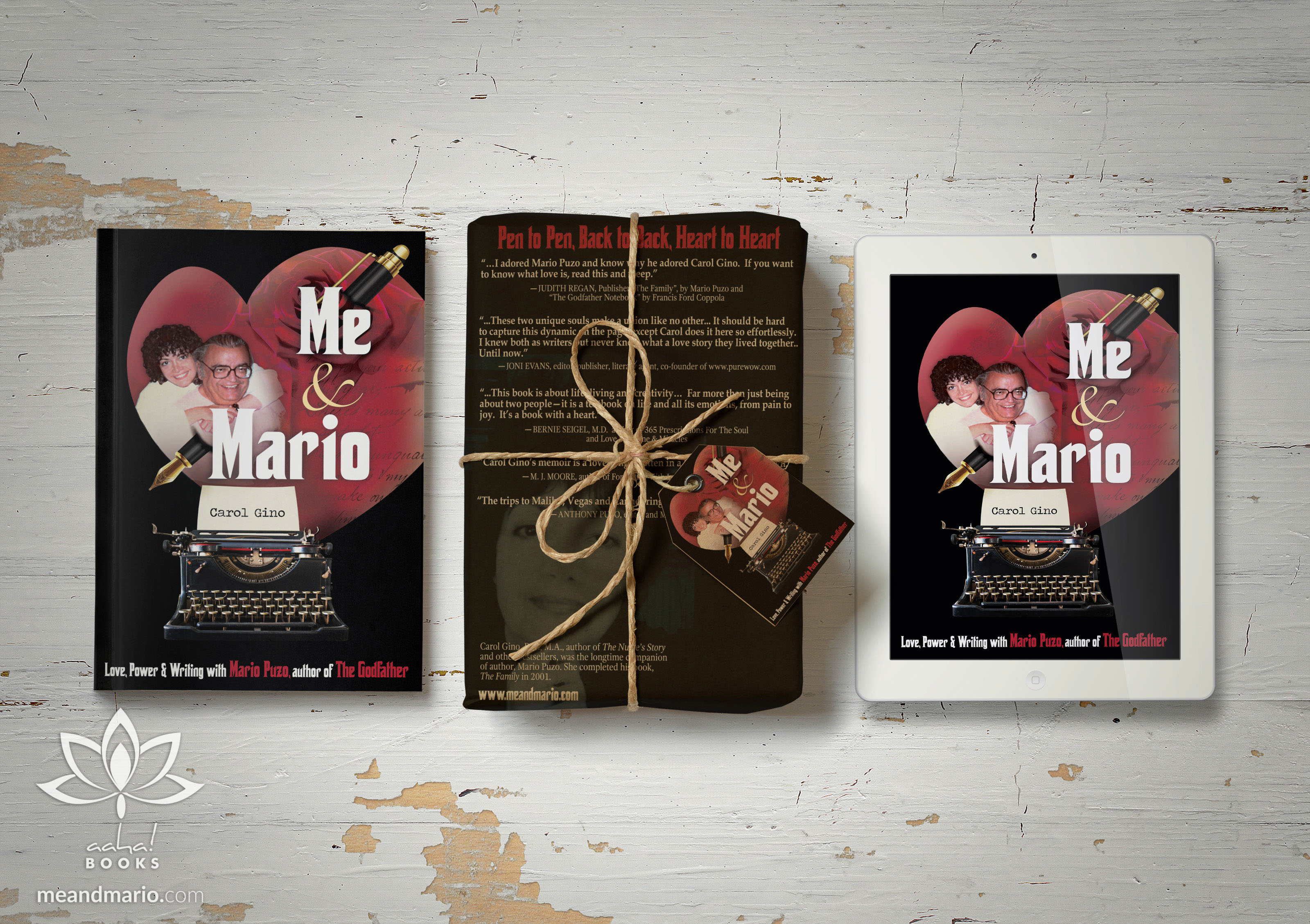 New memoir! Me and Mario: Love, Power & Writing with Mario Puzo, author of The Godfather
